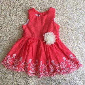 Little Girl Pippa & Julie Sleeveless Dress